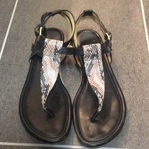 Cole Haan black sandals